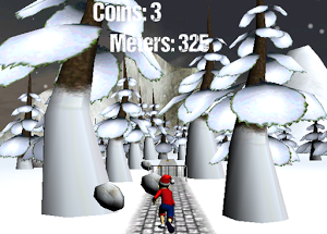 Aplicatie Android 3d - runner